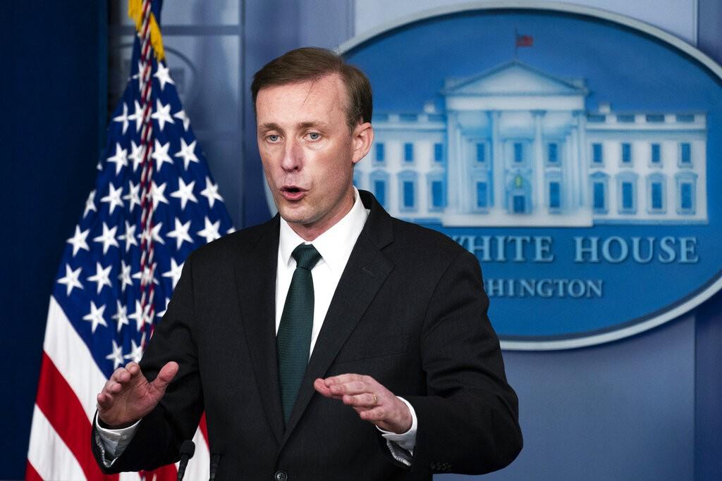 美國國安顧問蘇利文駁斥「今日阿富汗,明日台灣」,強調對台承諾一如既往堅實。(圖 / 美聯社)