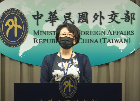 外交部國際組織司副司長蕭伊芳。(圖 /翻攝自外交部YouTube)
