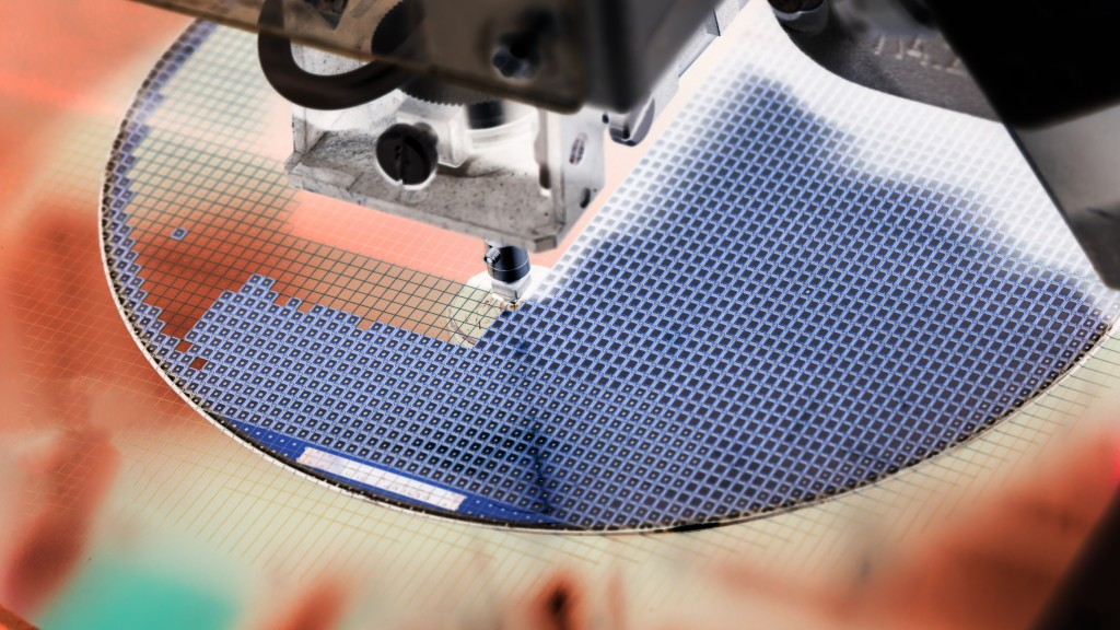 Semiconductor wafer. (Getty Images)
