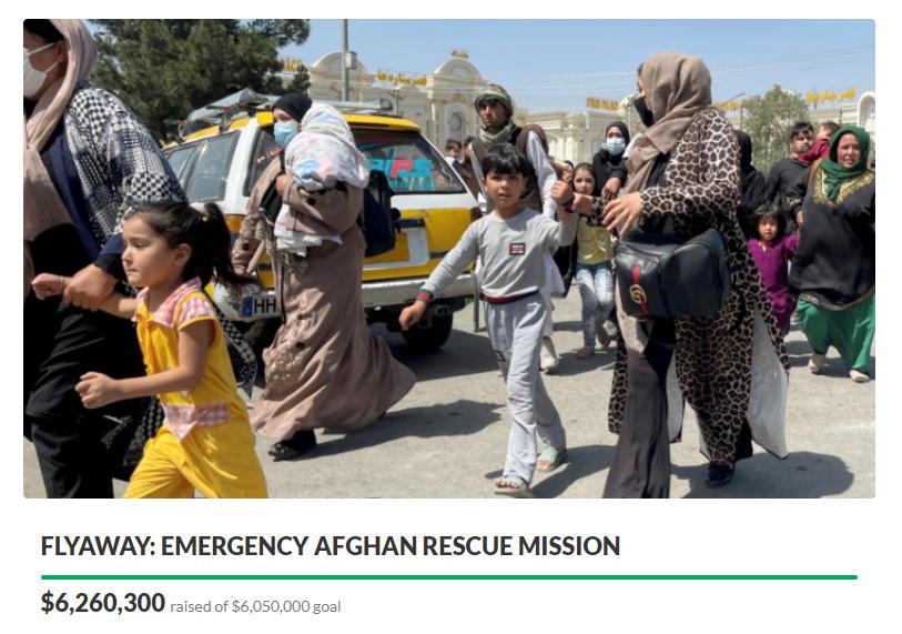 塔利班政權手握處決名單,募款專案幫助待宰羔羊逃出生天。( 圖 / 翻攝自GoFundMe )