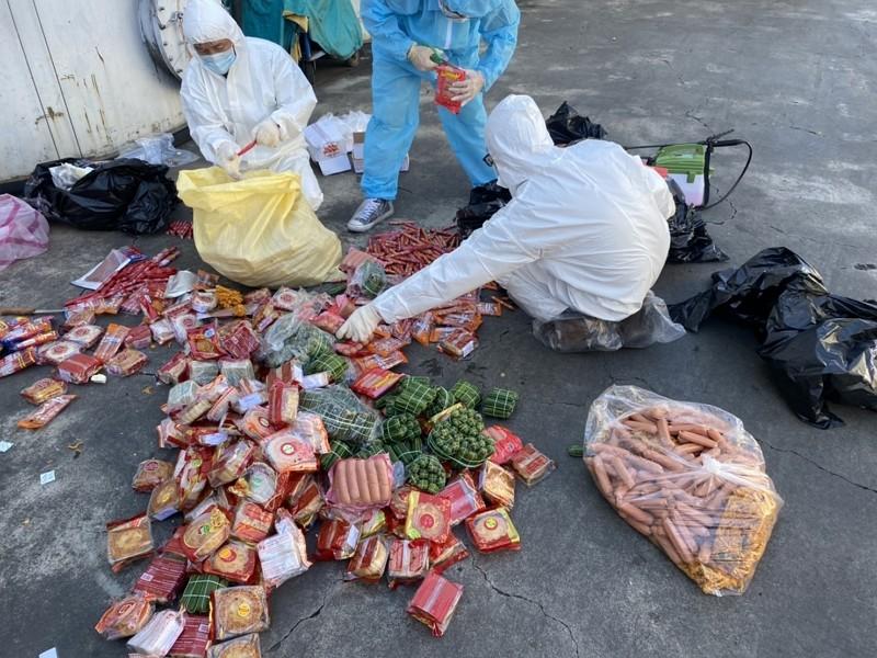 越南走私肉品驗出非洲豬瘟(圖/中央災害應變中心)