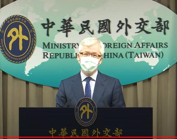 外交部公眾會副執行長崔靜麟。( 圖/ 翻攝自外交部YouTube)