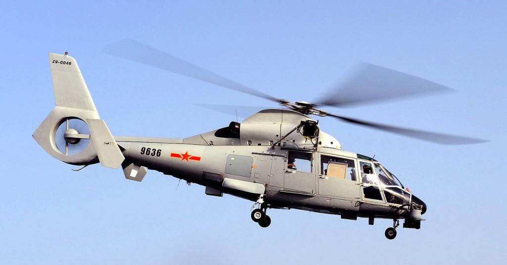 Harbin Z-9 anti-submarine warfare helicopter.