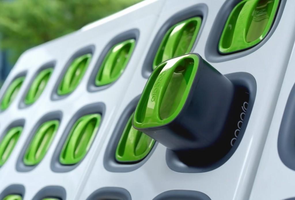 Gogoro charging station. (Gogoro image)