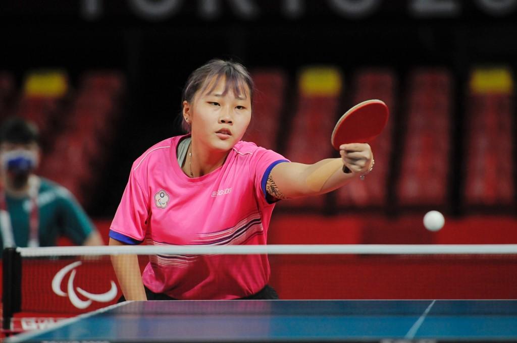 台灣桌球好手田曉雯28日在2020東京帕運奪得女單銅牌。(圖/中央社)