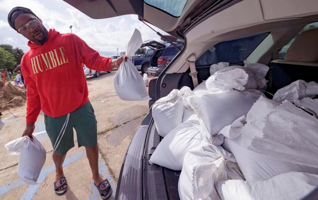 Louisiana resident preparing for Hurricane Ida. (The Tribune-Democrat, Matthew Hinton photo)
