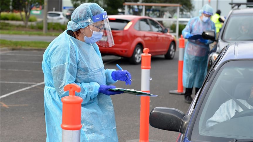 Australia's New South Wales reports record COVID-19 infections. (Anadolu Agency)