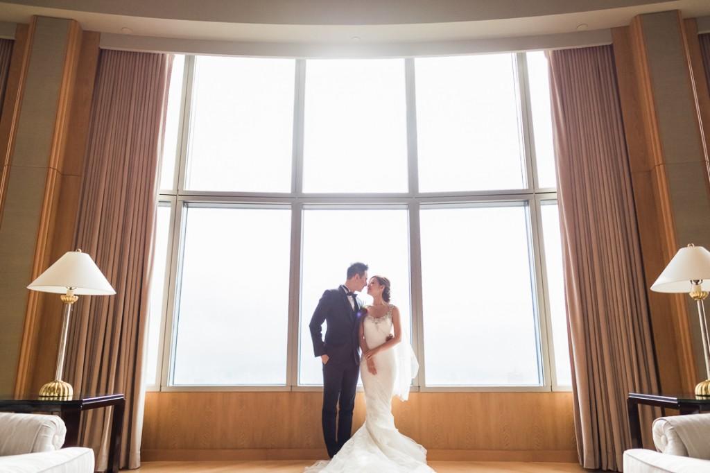愛在雲端 安心婚宴專案 台北遠東香格里拉總統套房 幸福啟程
