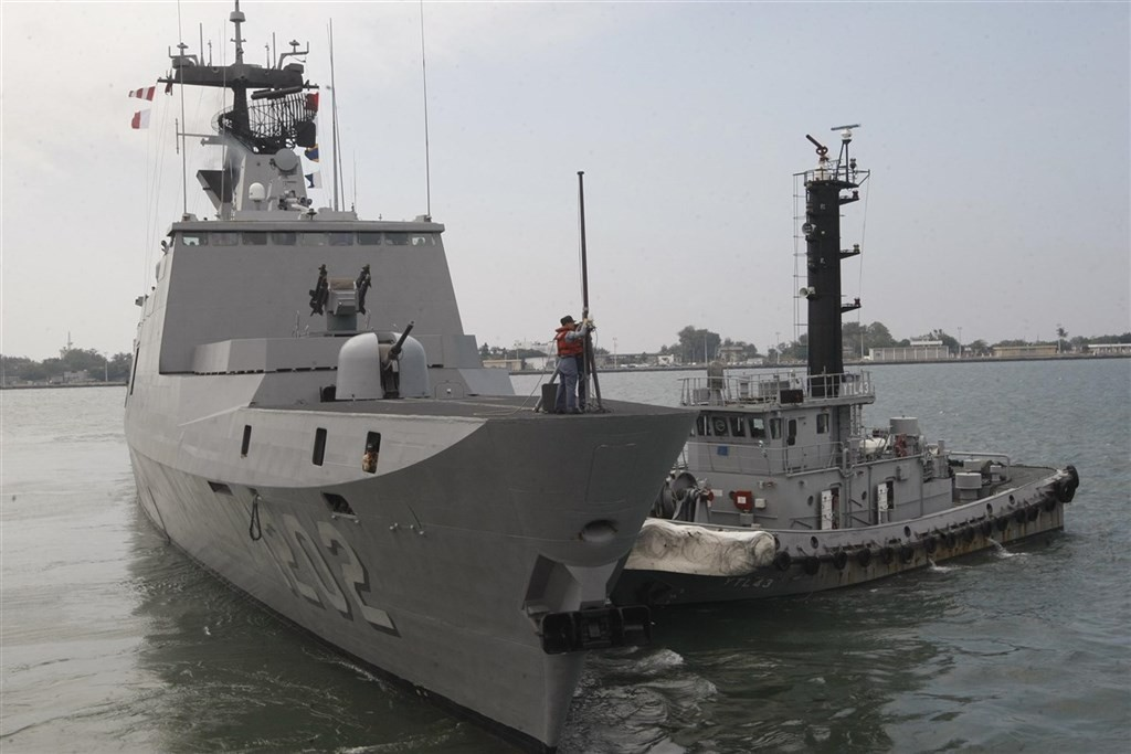 The Kang Ding-class frigates will be equipped with new missile systems.
