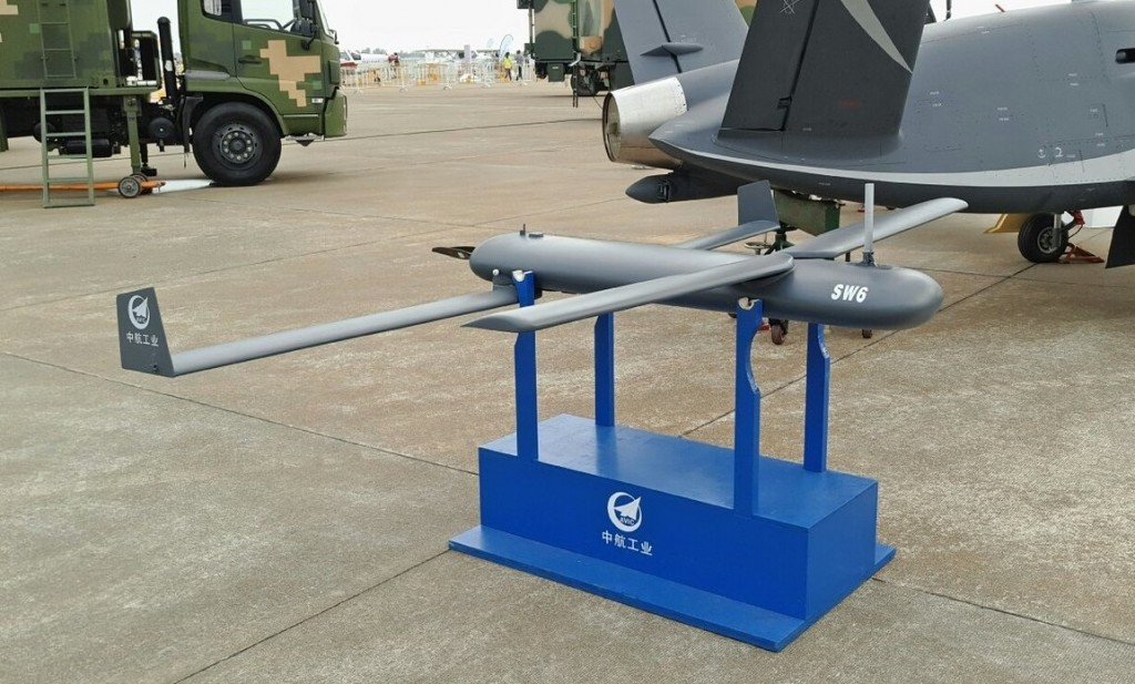 Chinese SW-6 drone. (Chinese Military Review photo)