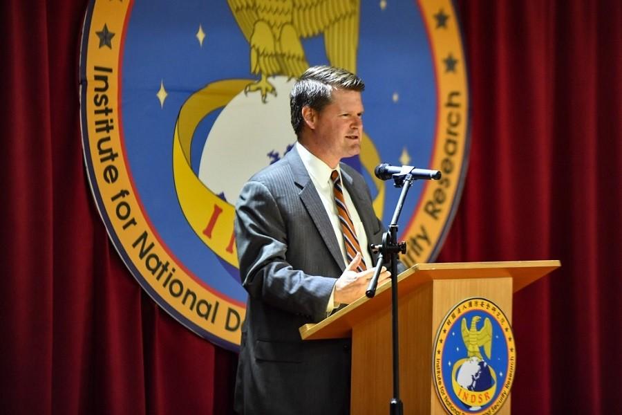 華府智庫「2049計畫研究所」主席薛瑞福(Randall Schriver), 曾任美國國防部印太助理部長 (中央社檔案照片)