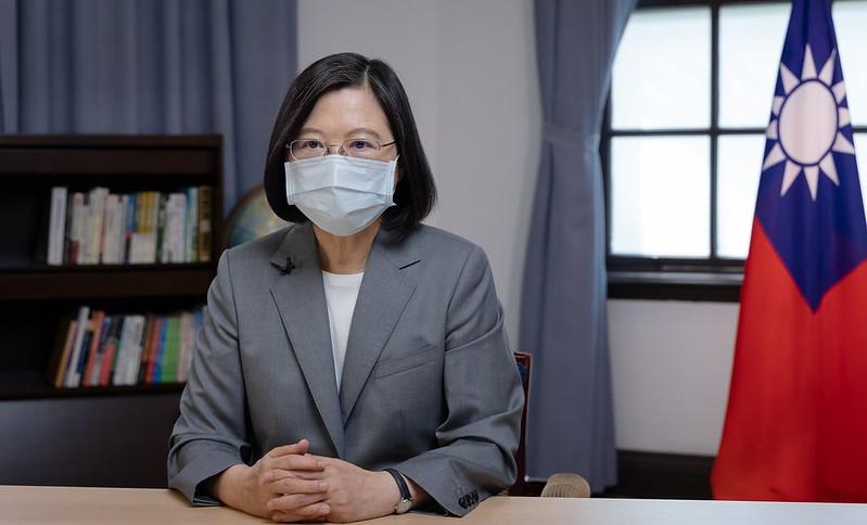 President Tsai Ing-wen.(Office of the President photo)