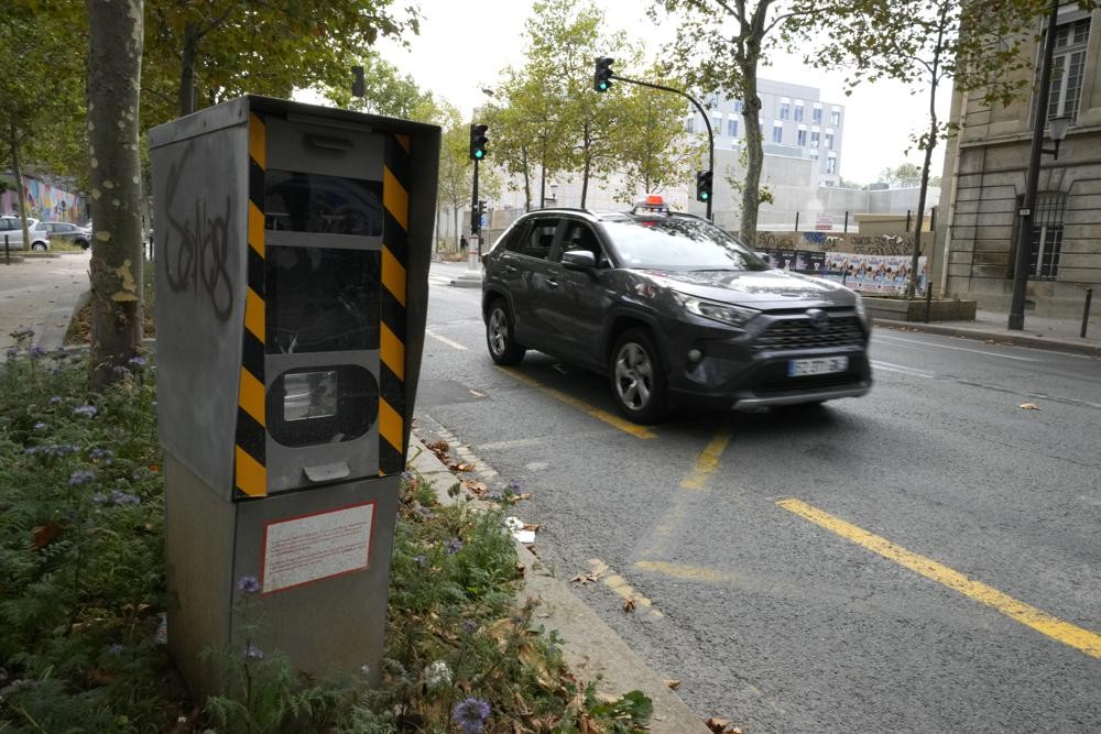 法國首都巴黎將實施車速時速30公里的制度。(圖/美聯社)