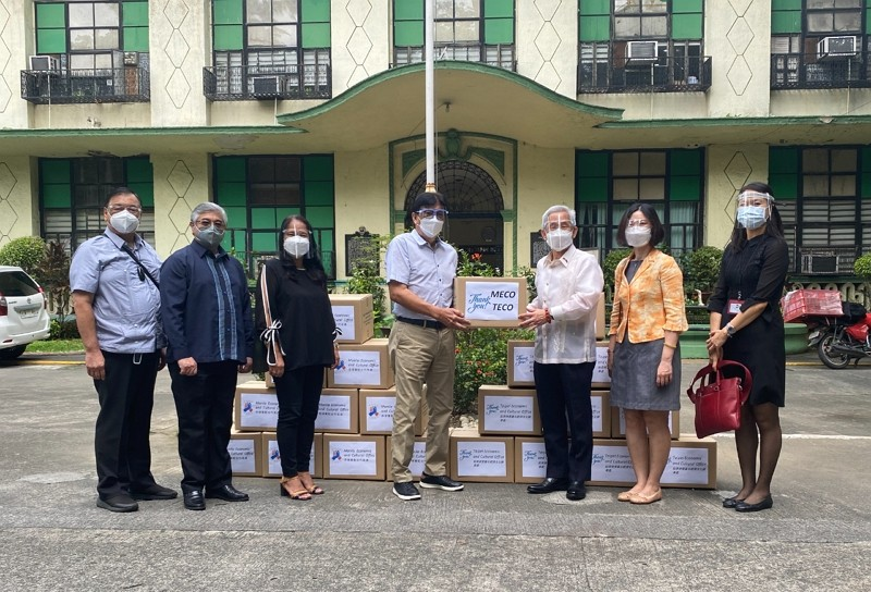 Taiwan gifts Philippines 200 oxygen concentrators amid COVID-19 surge. (Taipei Economic and Cultural Office in the Philippinesphoto)