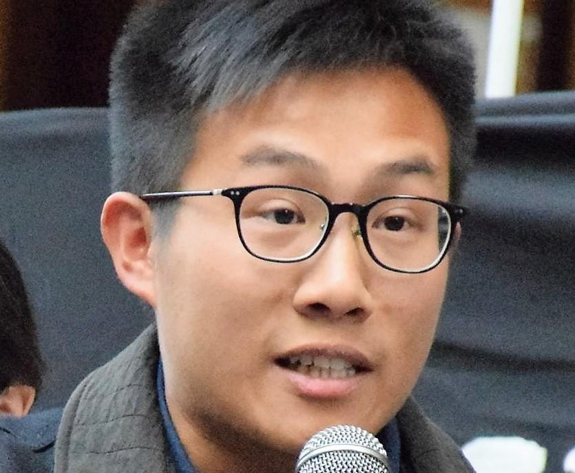 Hong Kong pro-democracy activist Raphael Wong.