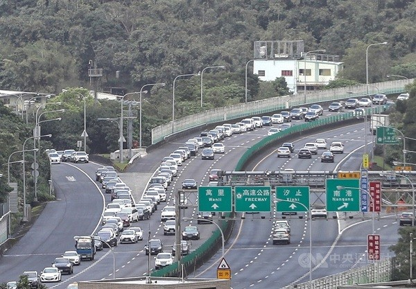 Traffic expected on Taiwan's National Highway 5 during Mid-Autumn Festival