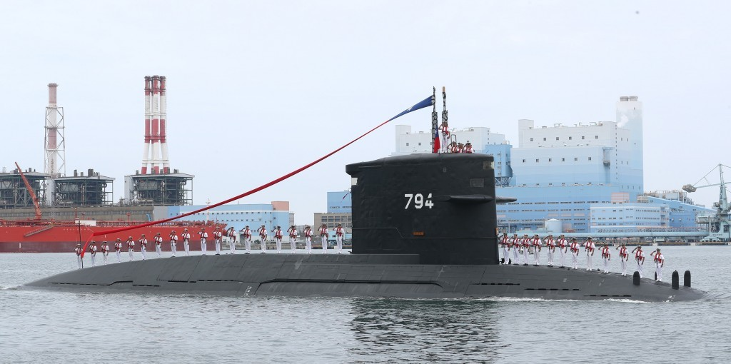 Taiwan will start construction of domestic submarine in November.