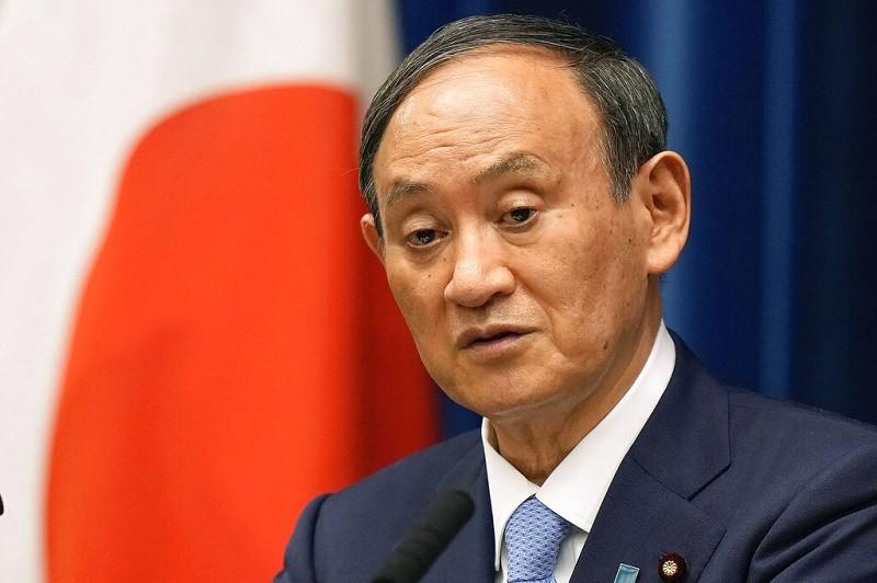 日本現任首相菅義偉 (美聯社)