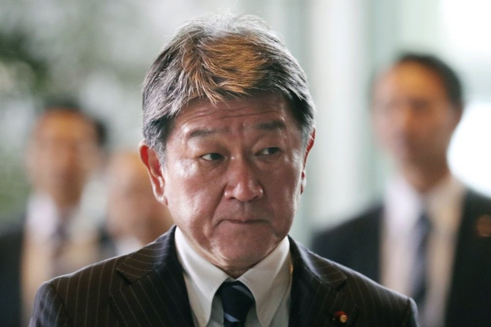 Japanese Foreign Minister Motegi Toshimitsu announces vaccine donations to Taiwan, Thailand and Vietnam.