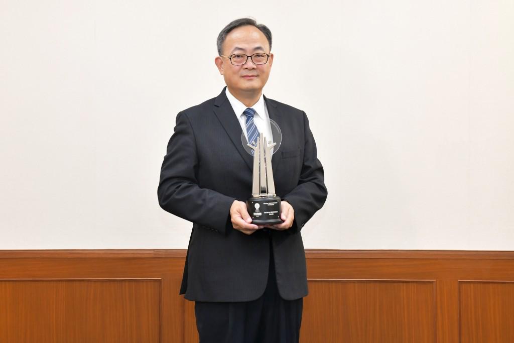 臺灣企銀再度榮獲AREA亞洲企業社會責任獎,圖為臺灣企銀總經理張志堅。(照片來源:臺灣企銀)