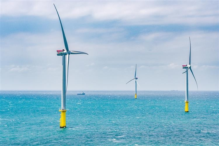 Wind turbines. (MOEA photo)