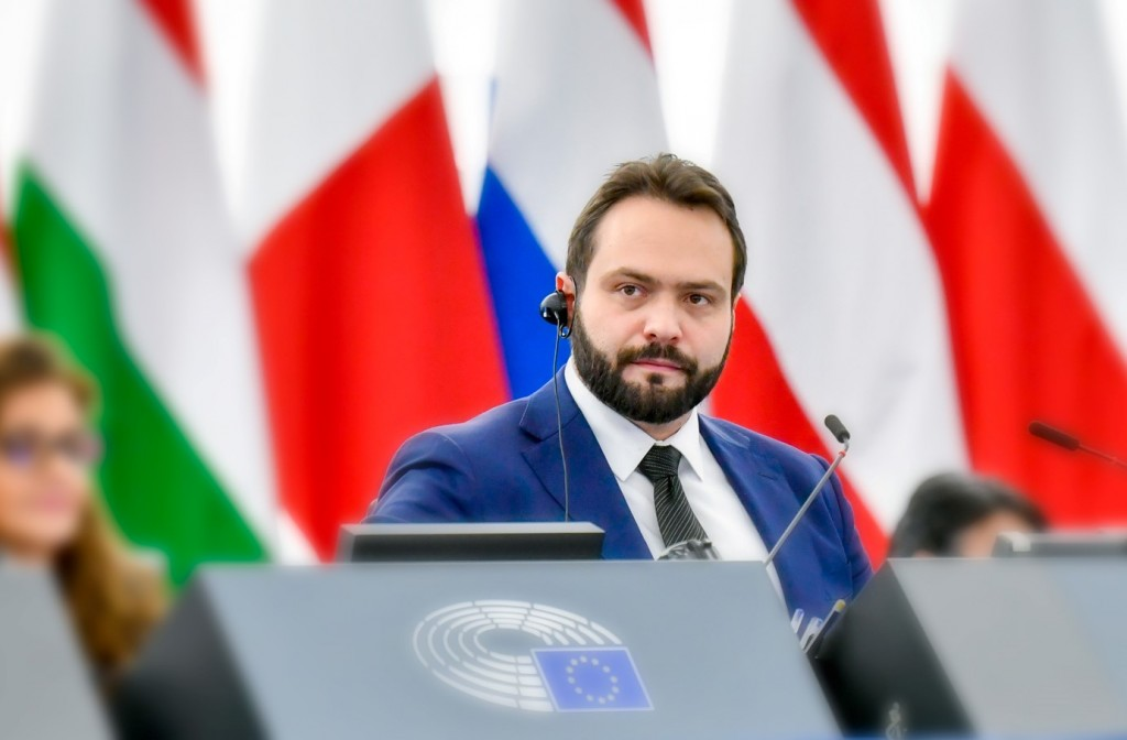 European Parliament Vice President Fabio Massimo Castaldo (Facebook, Fabio Massimo Castaldo photo)