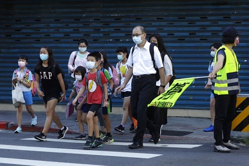 台北街頭(圖/AP)