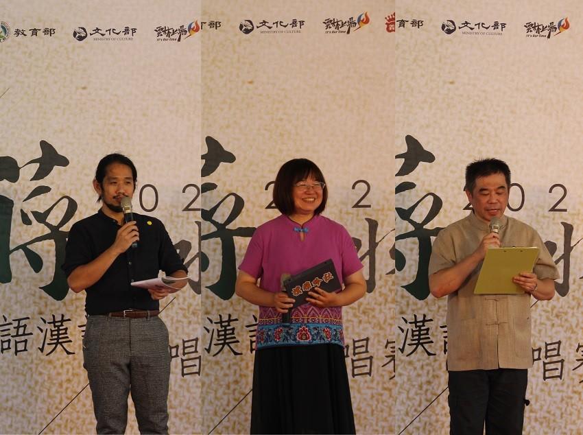 照片左起:傅恩弘、徐大年、李玉璽。(照片由Taiwan News後製)