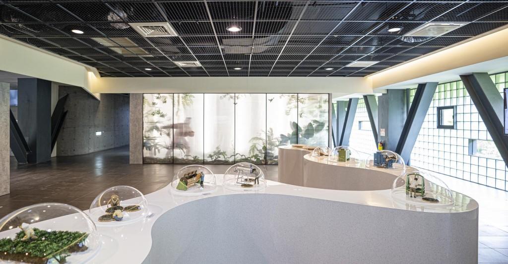 光影生態櫥窗。(照片來源:阿里山觸口遊客中心提供)