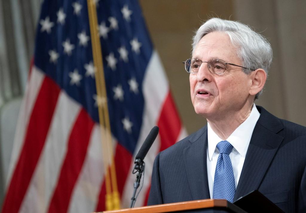 美國聯邦司法部長嘉蘭德(Merrick Garland)。(圖/路透社)