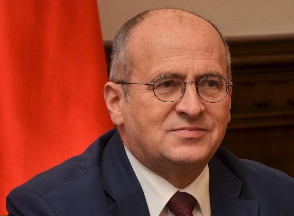 Polish Foreign Minister Zbigniew Rau.