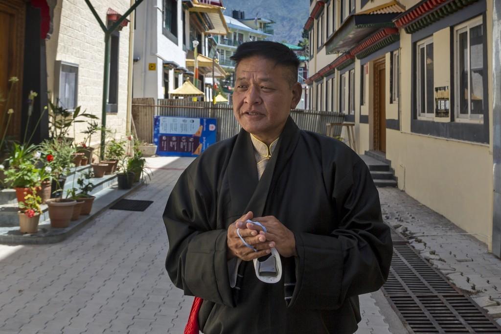 Central Tibetan Administration President Penpa Tsering.