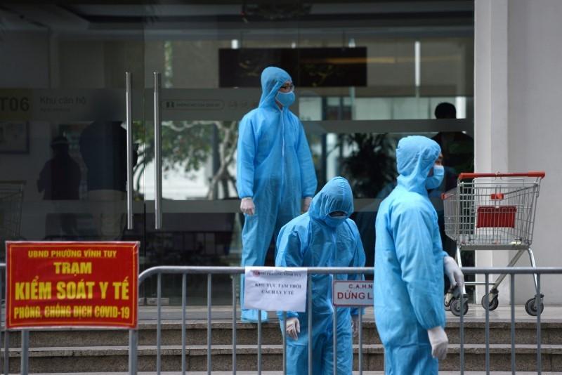 越南四月新一波疫情爆發至今狀況仍相當嚴重。(圖/路透社)