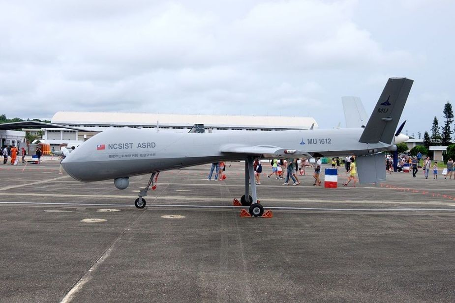 First-generation Teng Yun drone.