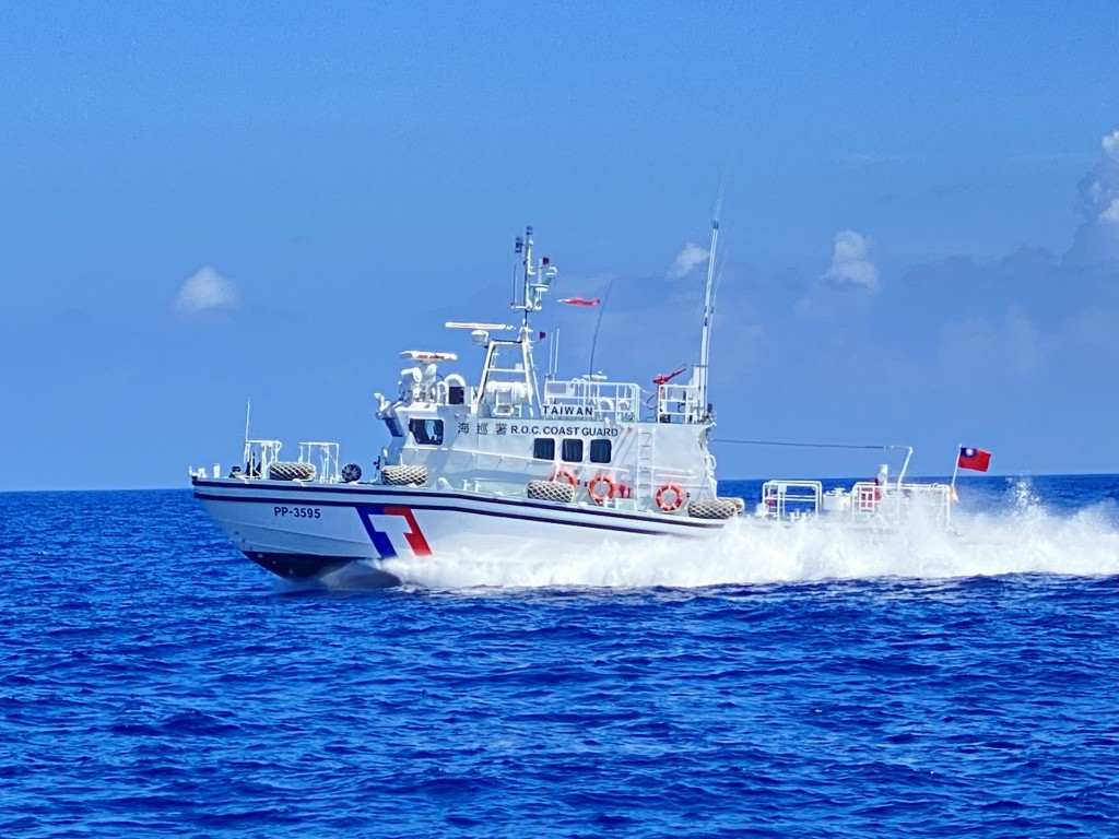 The Coast Guard has assigned a new patrol boat to Taitung County. (CNA, CGA photo)