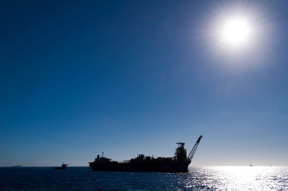The abandoned Northern Endeavour oil production vessel is seen in the Timor Sea. /Handout via REUTERS