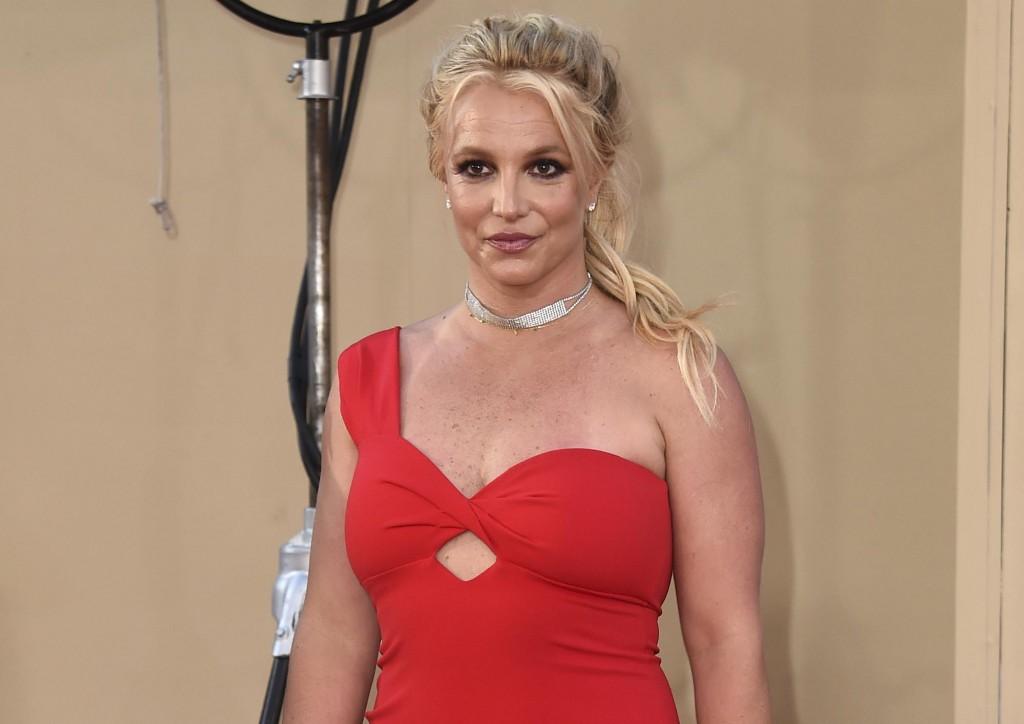 美國流行樂天后「小甜甜」布蘭妮(Britney Spears)。(圖/美聯社)