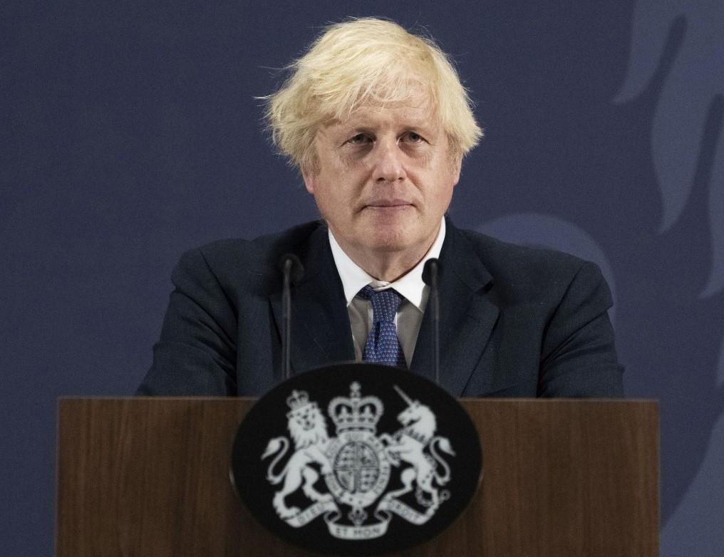U.K. Prime Minister Boris Johnson.