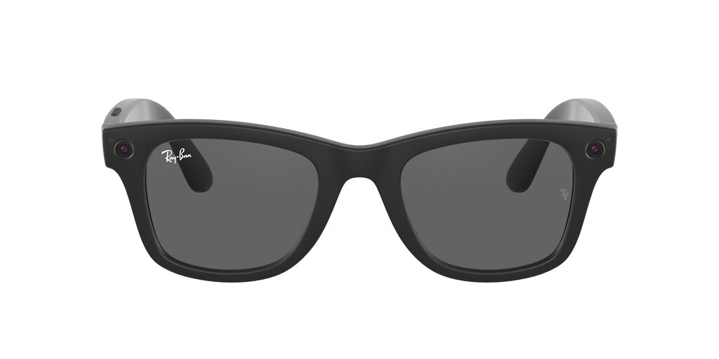 This photo provided by Facebook shows Ray-Ban internet-connected smart glasses.