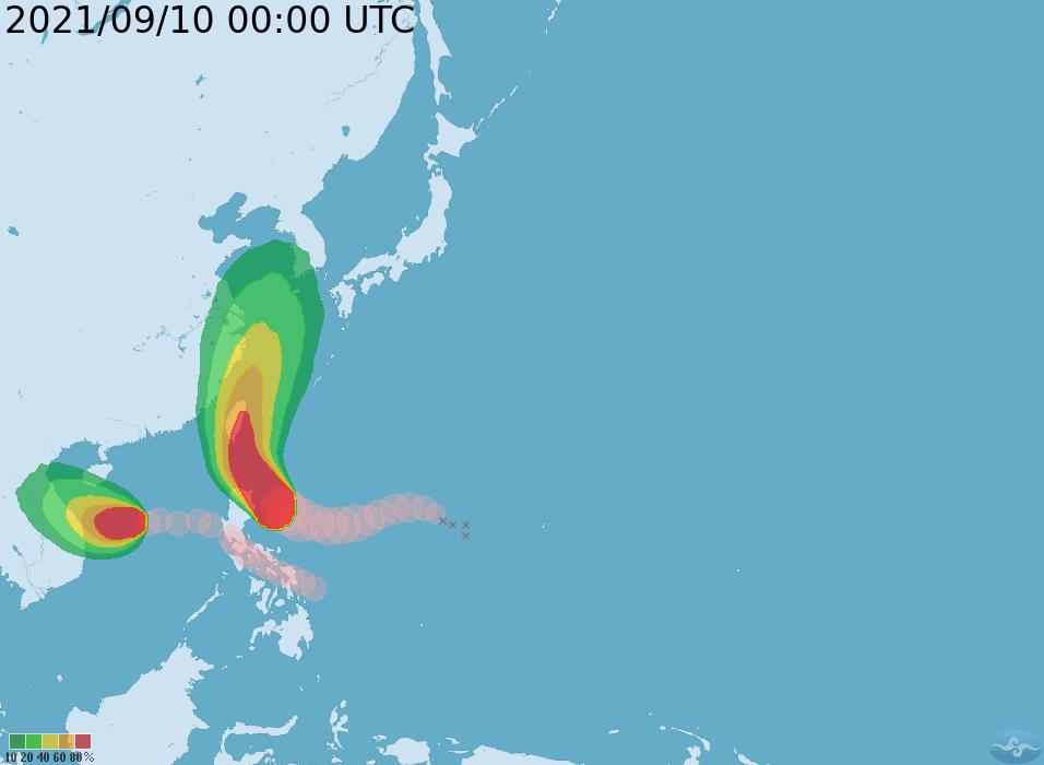 Taiwan issues sea warning for Super Typhoon Chanthu
