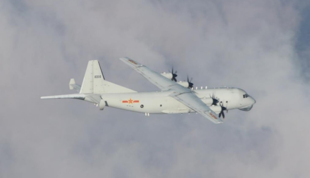 Chinese Y-8 ASW. (MND photo)