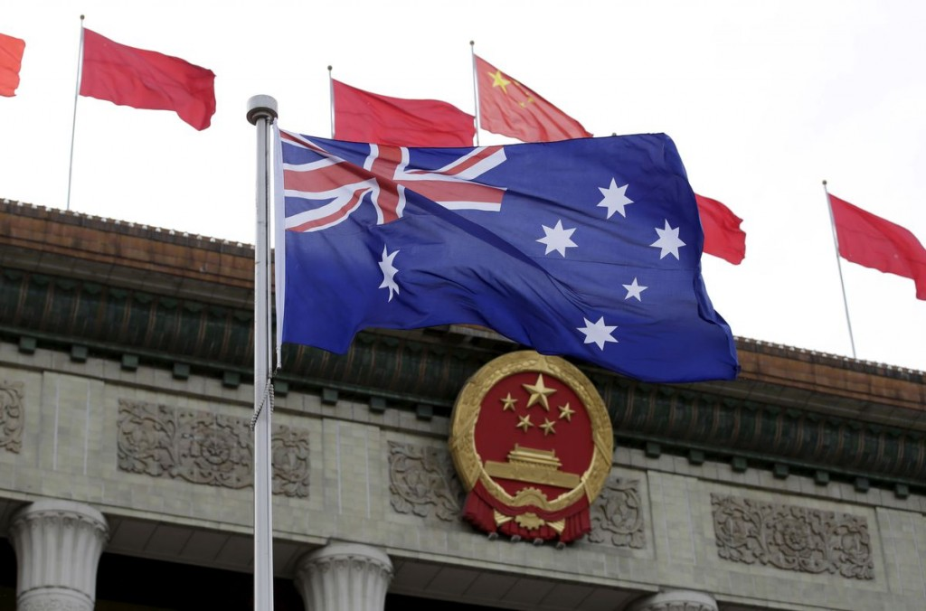 China lobbies Australia parliament on joining regional trade pact