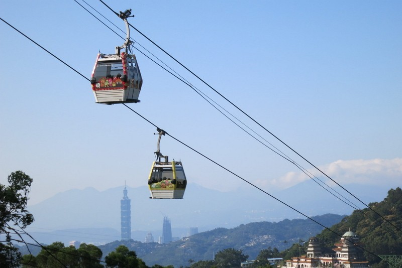Taipei's popular Maokong Gondola will be out of action from Sept. 13 until mid-December. (TRTC photo)
