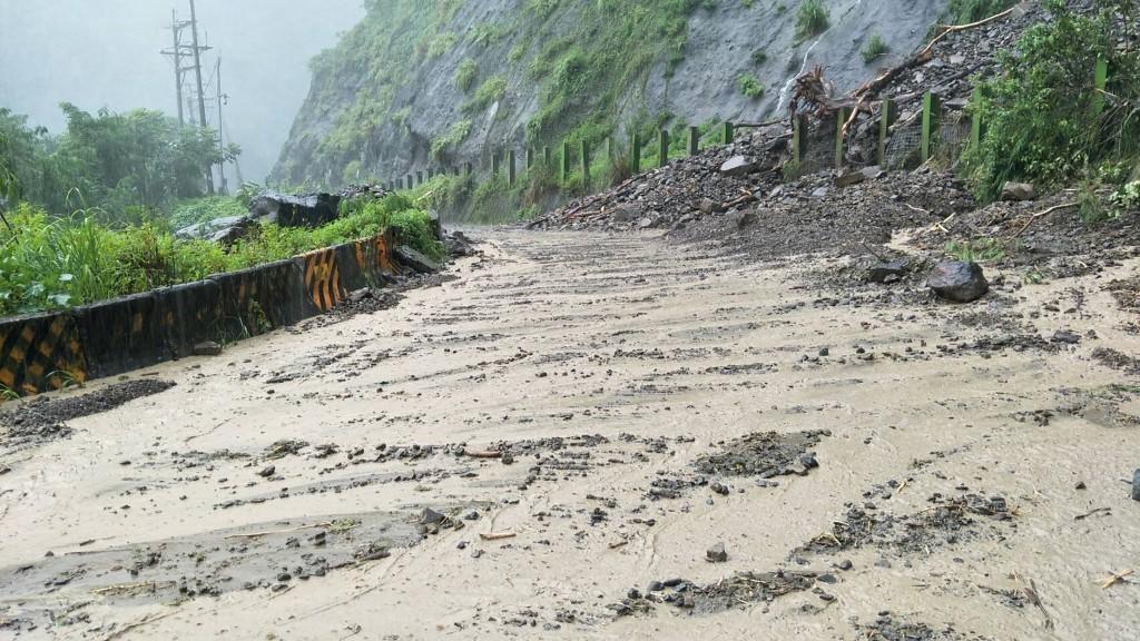 連日豪雨曾造成高雄那瑪夏區土石流。(圖/中央社資料照)