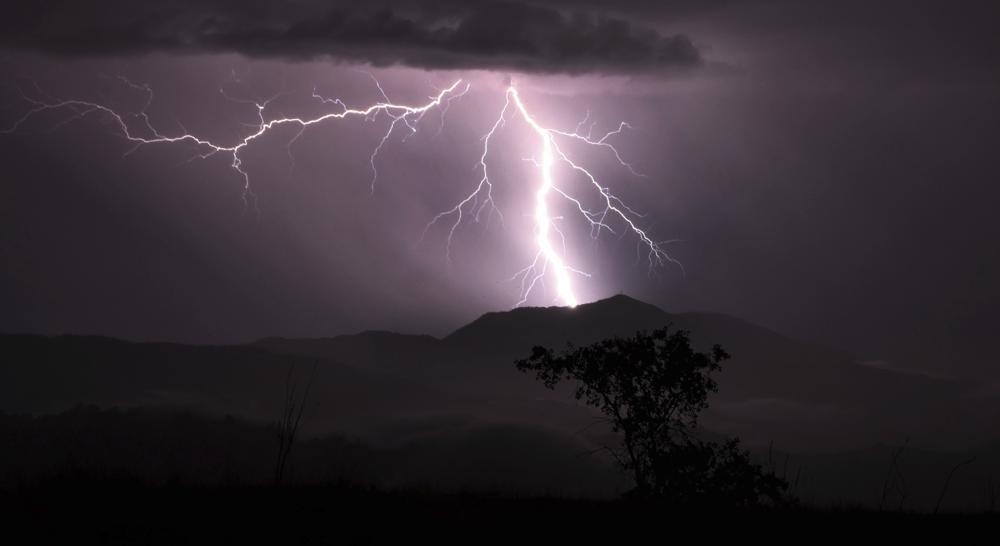 Lightning strikes over Mt. St. Helena Thursday, Sept. 9, 2021 in Napa county, Calif. Northern California was hit with well over 1,000 strikes during t...