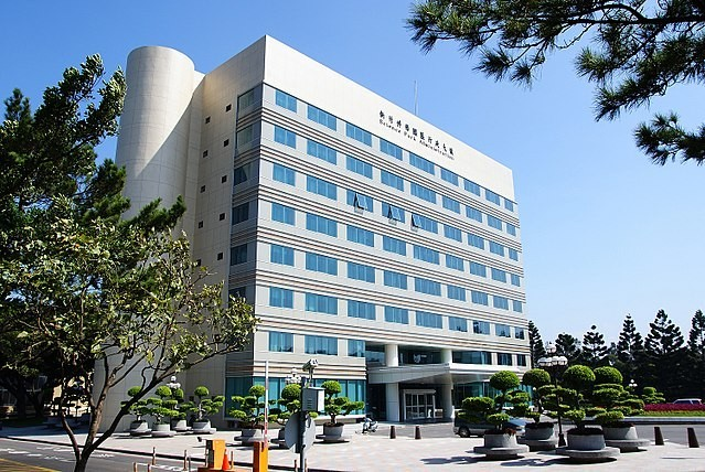 The Hsinchu Science Park administration building.