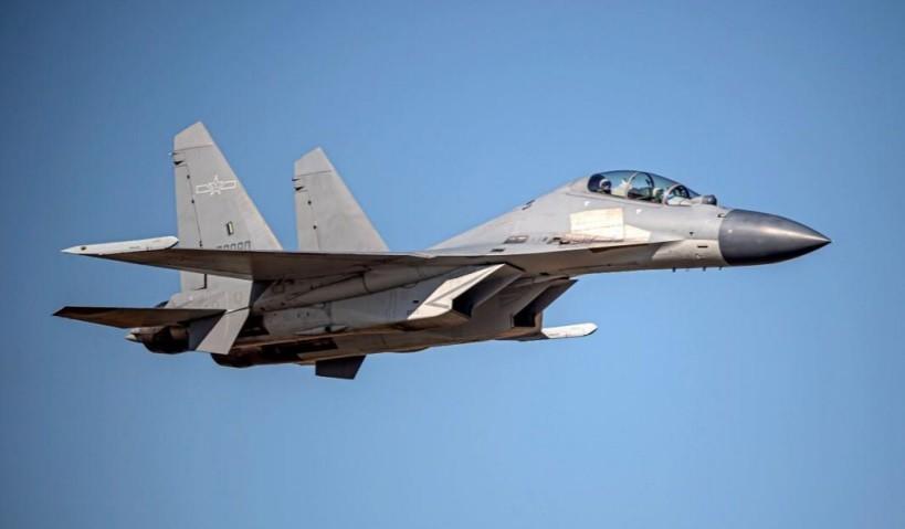 Chinese J-16 fighter jet. (MND photo)