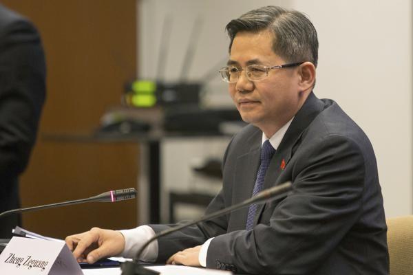 Zheng Zeguang, China's new representative to Britain. (AP photo)