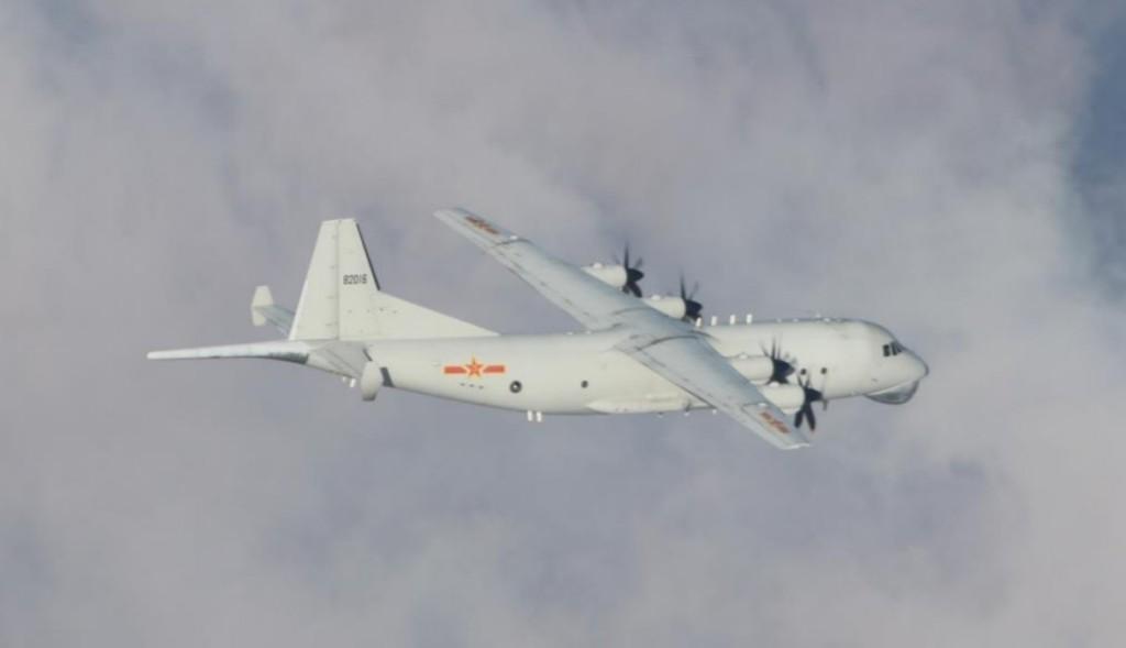 9 Chinese military aircraft enter Taiwan's ADIZ