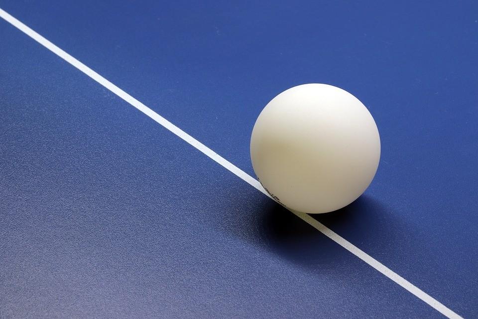 兵乓球(圖片來源:Pixabay user HeungSoon)